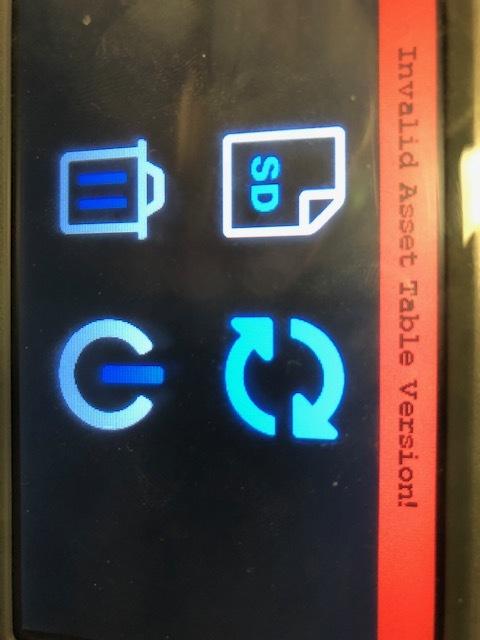 V5 screen