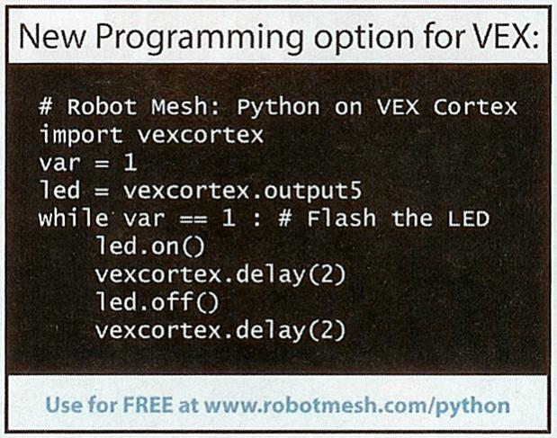 Python on VEX - Technical Discussion - VEX Forum