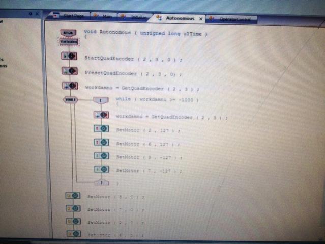 Quadrature Encoder  Programming And Setup