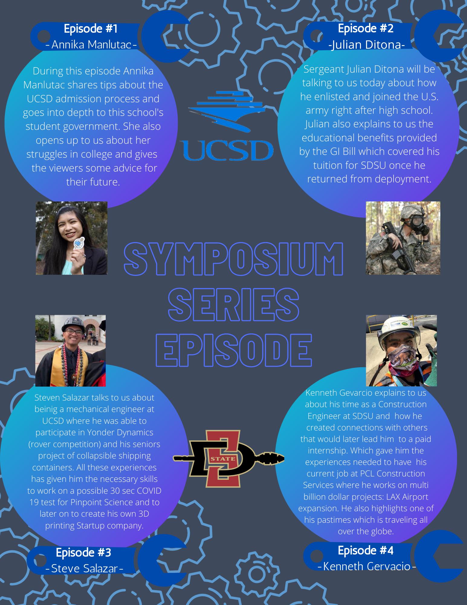 Episode 1-4 Mustang Robotics Alumni Symposium Series