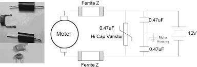 ferrite-bead-motor-protection