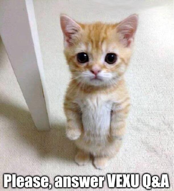 Please Answer VEXU QnA @Grant_Cox